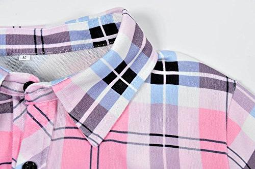 roswear Casual Cuffed Down Pink