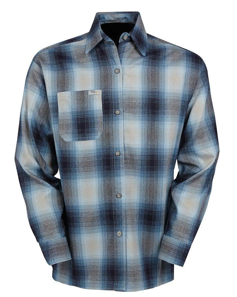 LONG SLEEVE Button-Front Old Flannel
