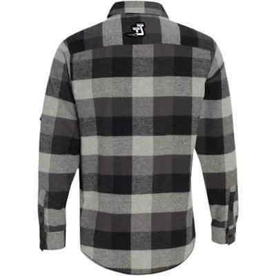 Throttle Threads Checkered Mens Shirts