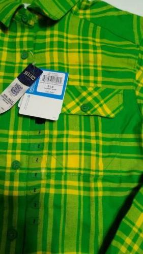 Columbia Flannel Small