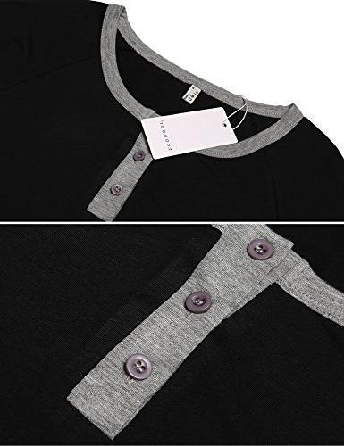 Ekouaer Mens Cotton Pajamas,O and