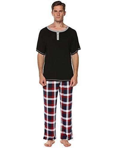 cotton solid pajamas