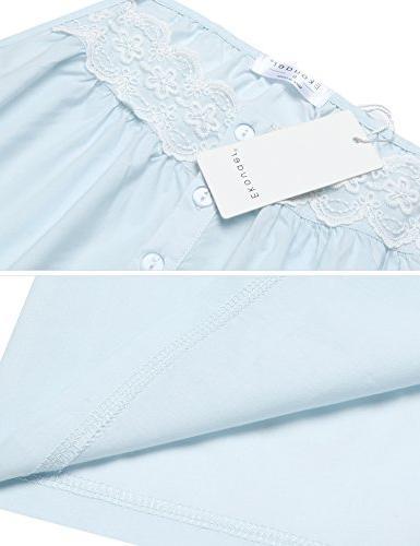 Ekouaer 100% Nightgowns Pajama