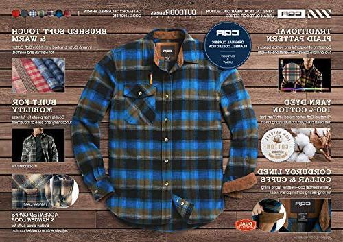 CQR Long Sleeved 100% Cotton HOF110