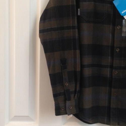 Columbia Deschutes Flannel Men's Size Small