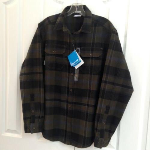 deschutes river heavyweight flannel shirt men s
