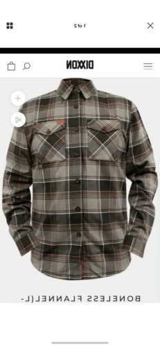 Dixxon Flannel Co Boneless Rare Limited XL Brand New Flannel