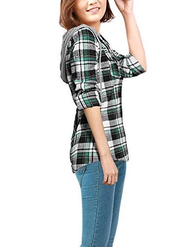 Allegra Hooded Shirts XS
