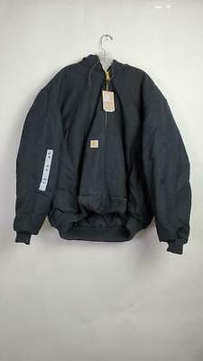 Carhartt Duck Lined Jacket Men - Dark XL