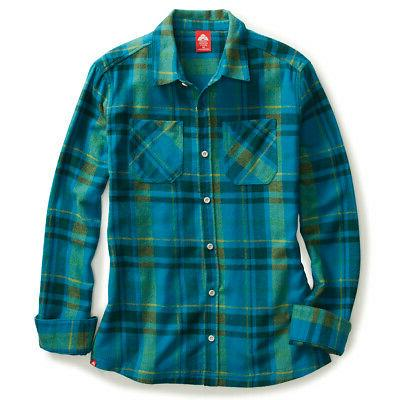 ems women s timber flannel long sleeve