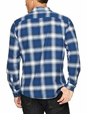 Essentials Plaid Blue, Size Large