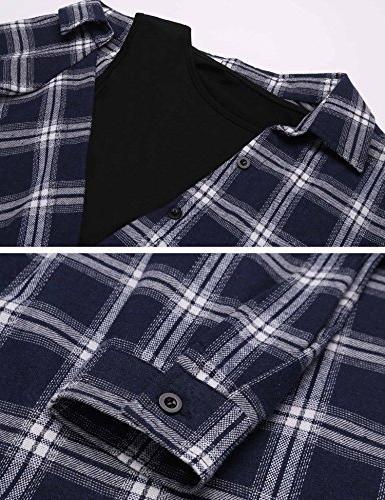 Beyove Two Piece Long Sleeve Crop Button Shirts,