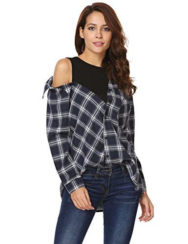 fake two long sleeve casual