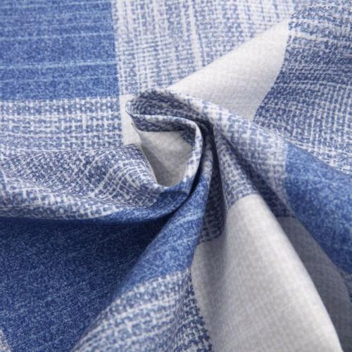 Fashion Men's Casual Linen Shirt Flannel Long Sleeve Shirts