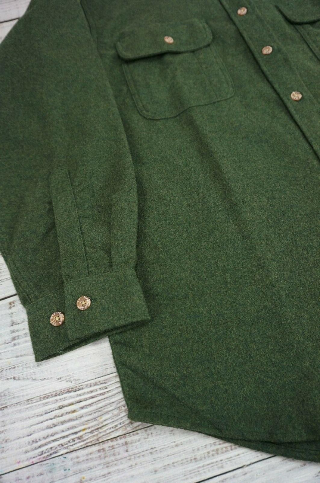 Field Stream Shirt Jacket Loden Forest Green - Medium NWOT