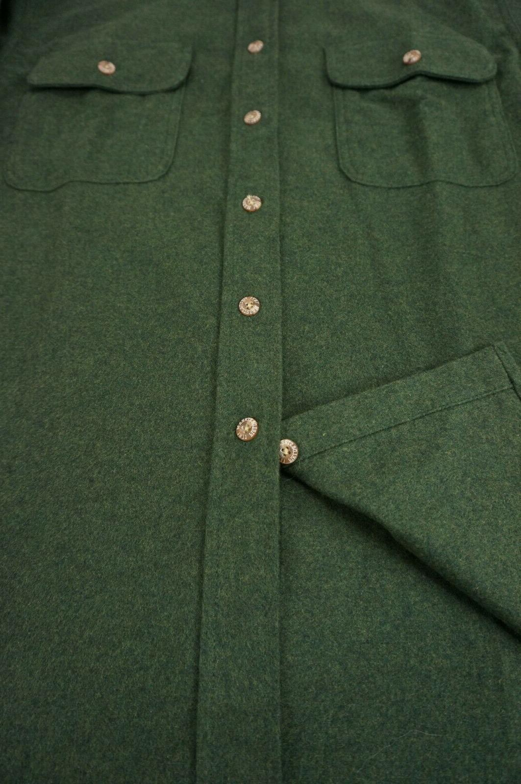 Field & Stream Shirt Jacket Green