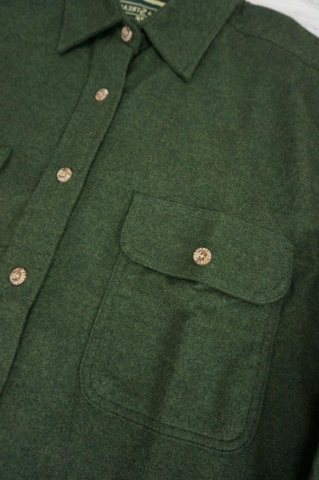 Field & Shirt Jacket Green Medium