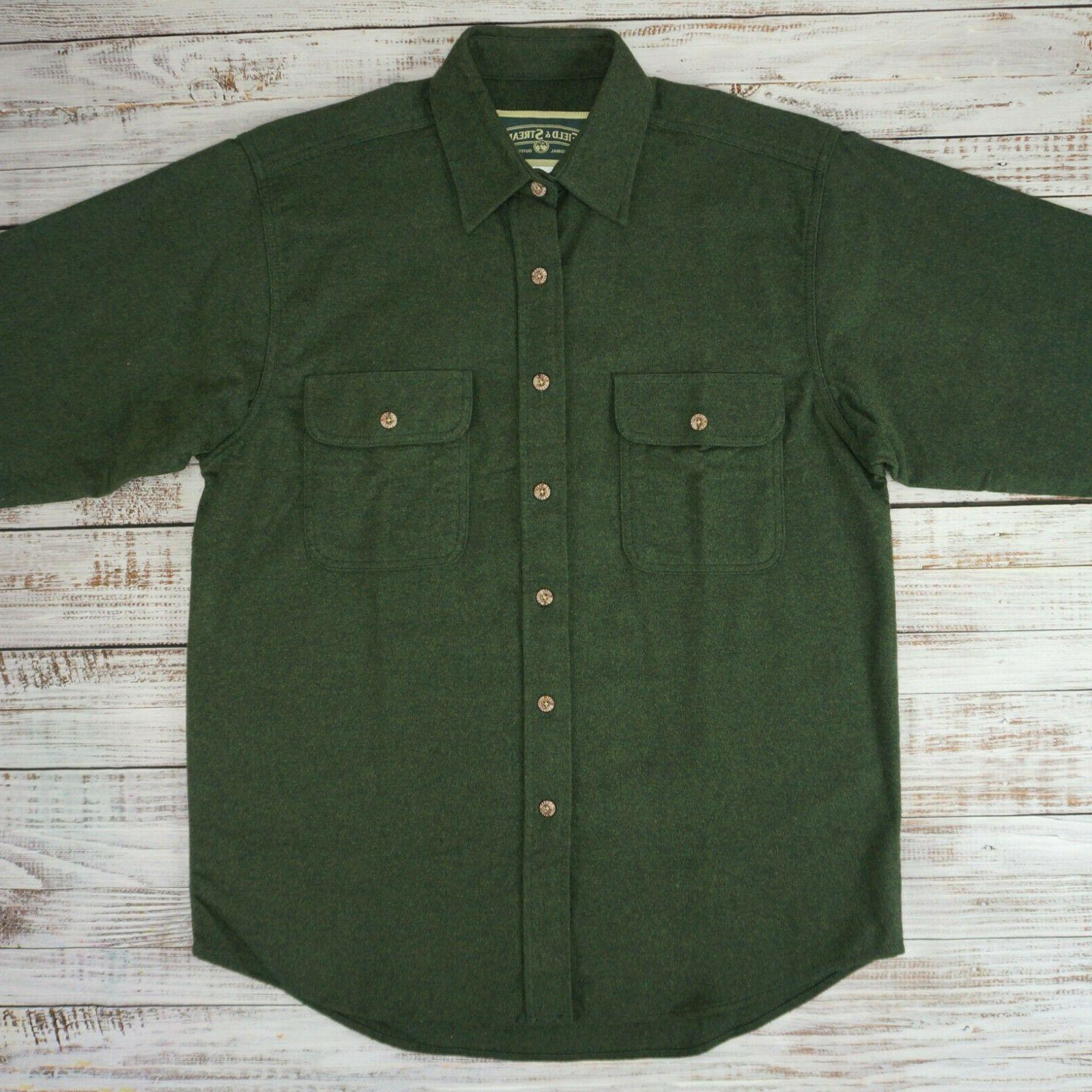 Field Shirt Green - Medium