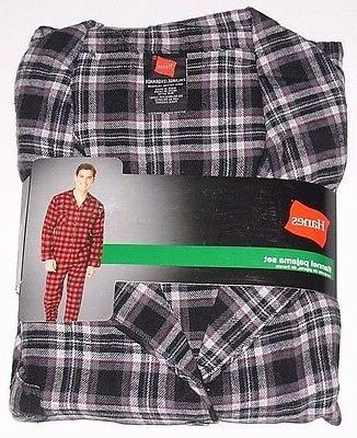 flannel 2pc pajama set shirt and pants