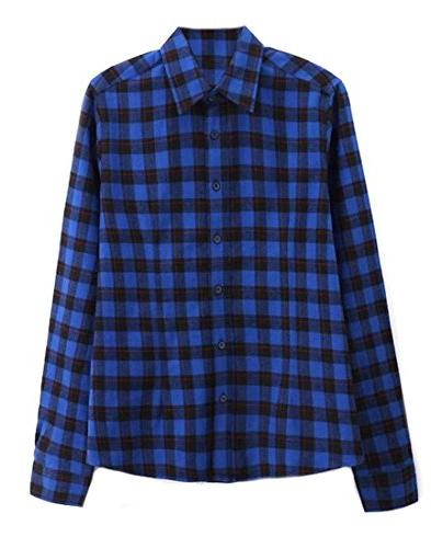 flannel button down slim fit