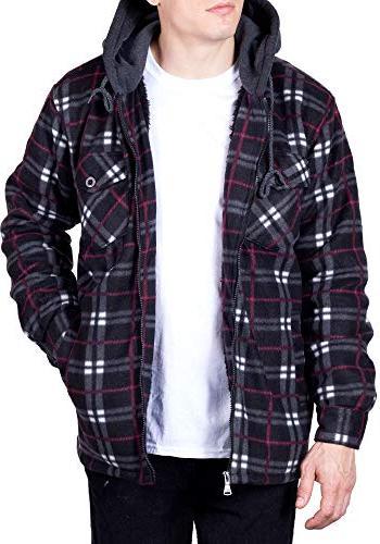 flannel hoodie jackets