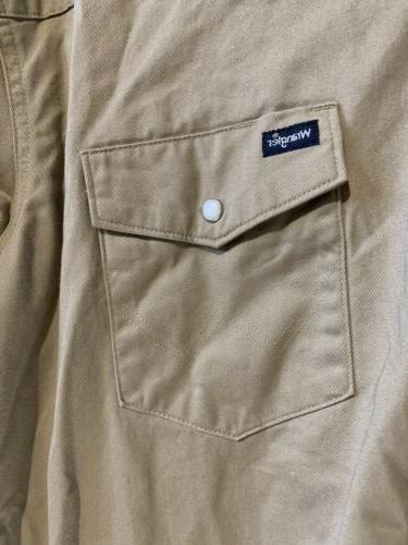 Wrangler Snap Shirt Size