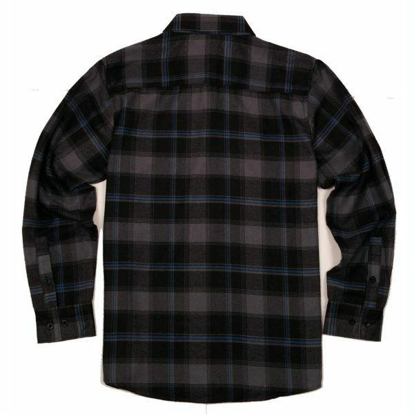 Yago Shirt Charcoal / Black / YG2508-C4