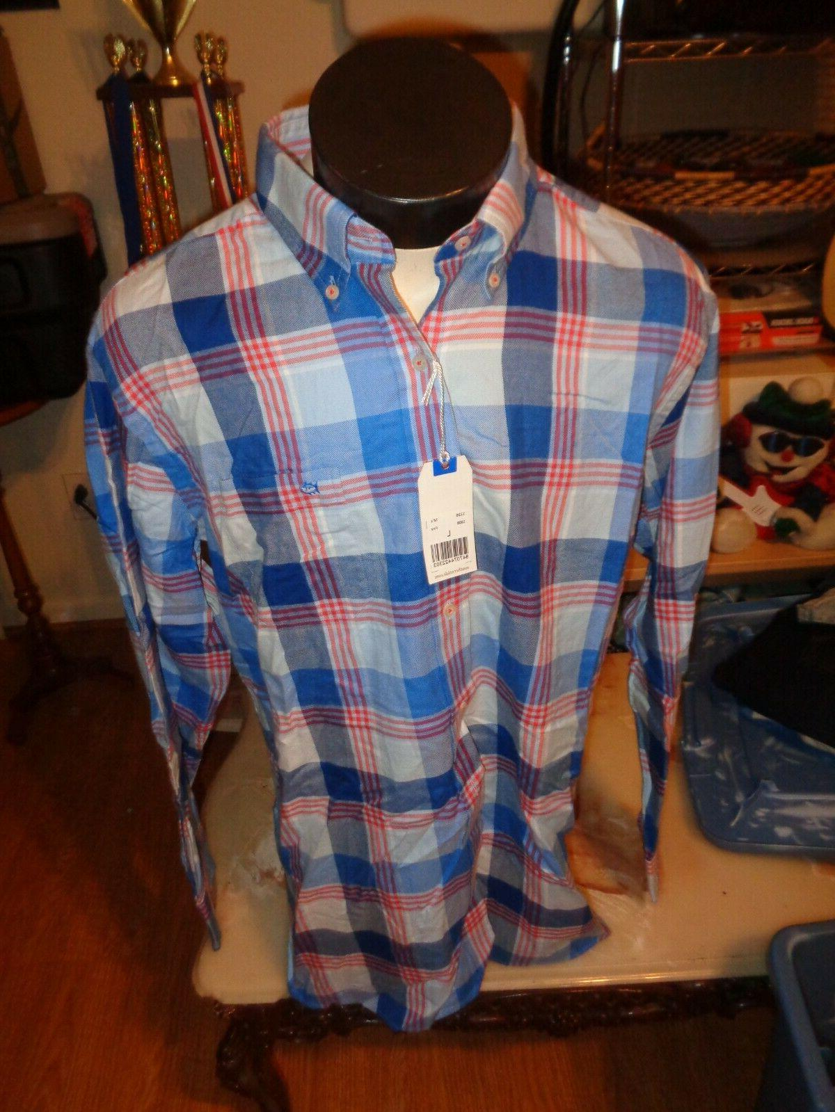 flannel men s buttondown shirt large