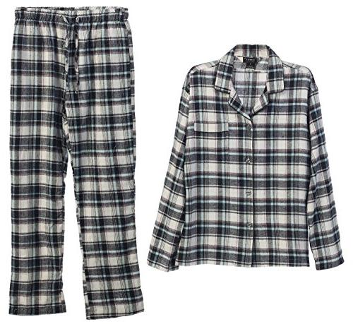 flannel pajamas