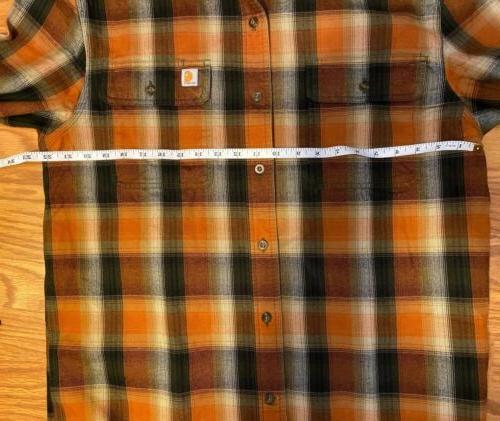 Carhartt Flannel Front Work Shirt Original Fit