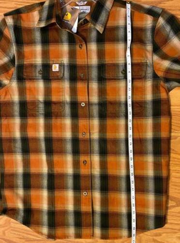 Carhartt Flannel Plaid Front Original