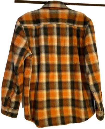 Carhartt Plaid Front Shirt Medium Original