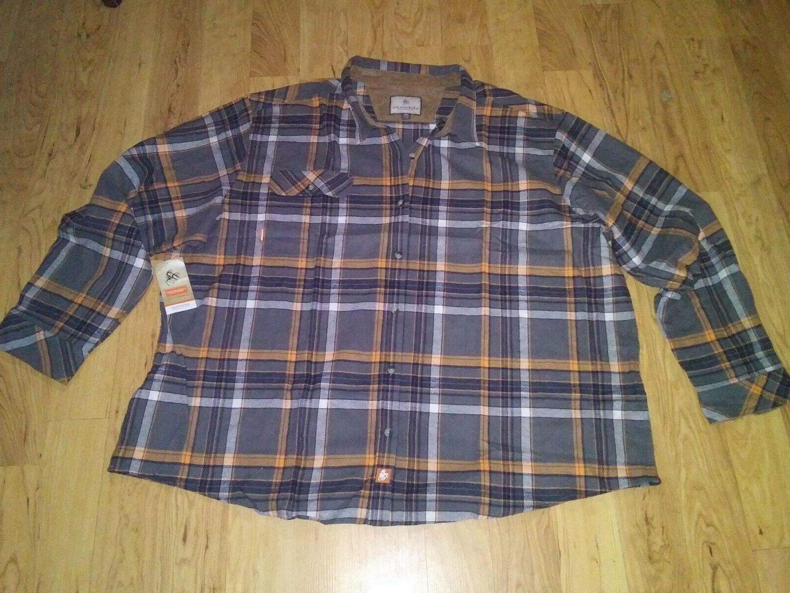 flannel shirt 5xl men s new
