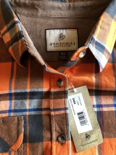 legendary whitetails Flannel Blue