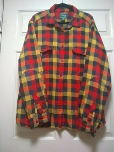 Woolrich Shirt Long Sleeve XXL cotton