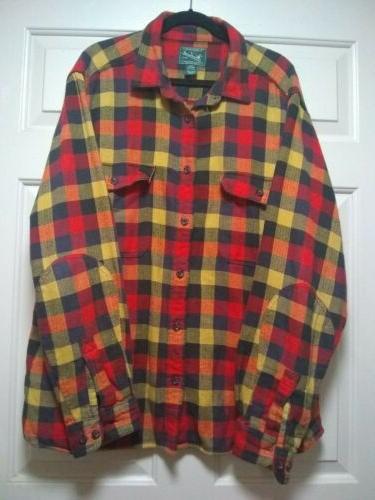Woolrich Flannel Shirt Sleeve XXL