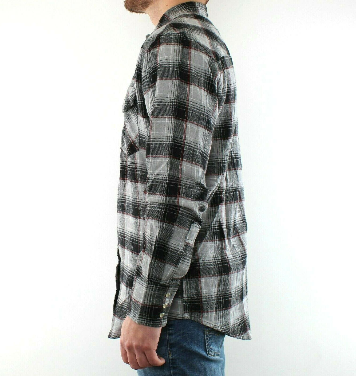 Wrangler Plaid Snap 2 Cotton
