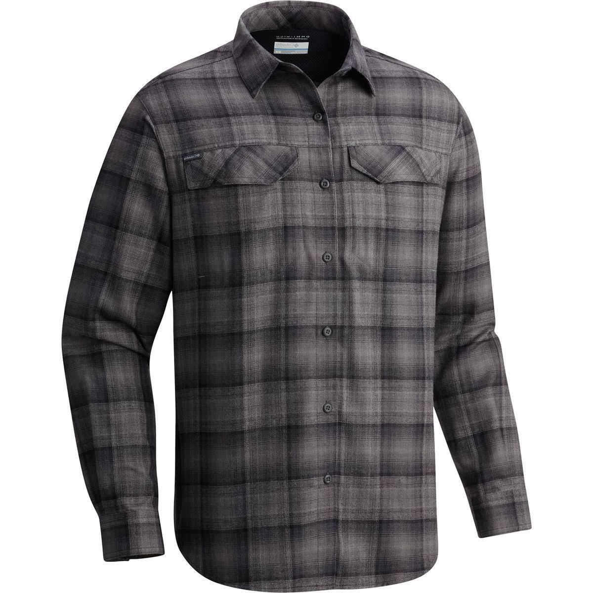 flannel shirt men s silver ridge 65