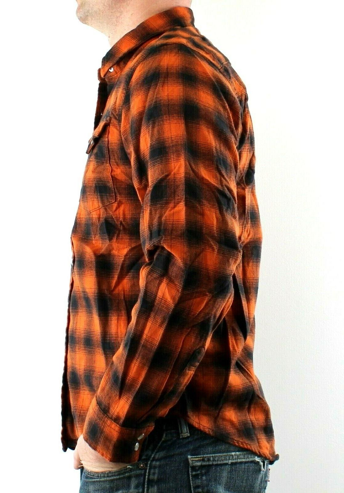 Wrangler Plaid with Western Pearl Snaps Cotton