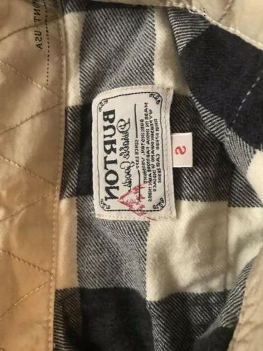 Burton Flannel Shirts Small