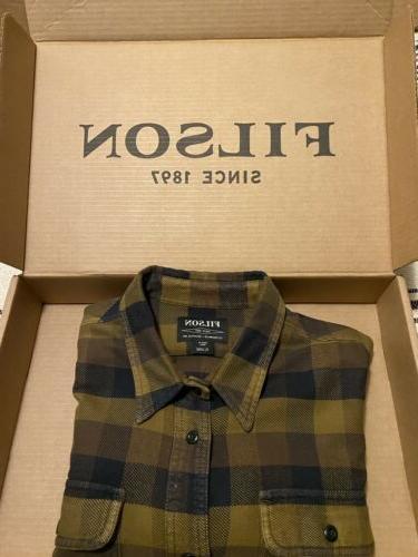 filson shirt Mens Brown Xl Extra