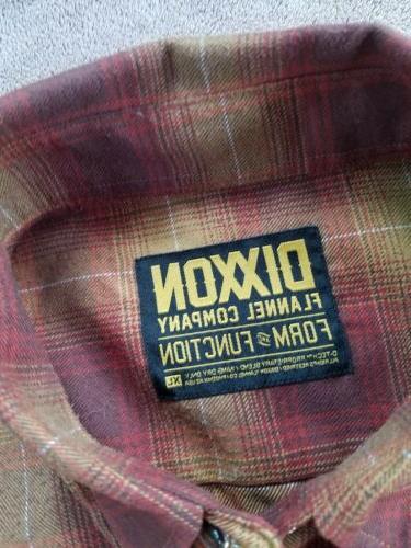 Dixxon Flannel shirt New