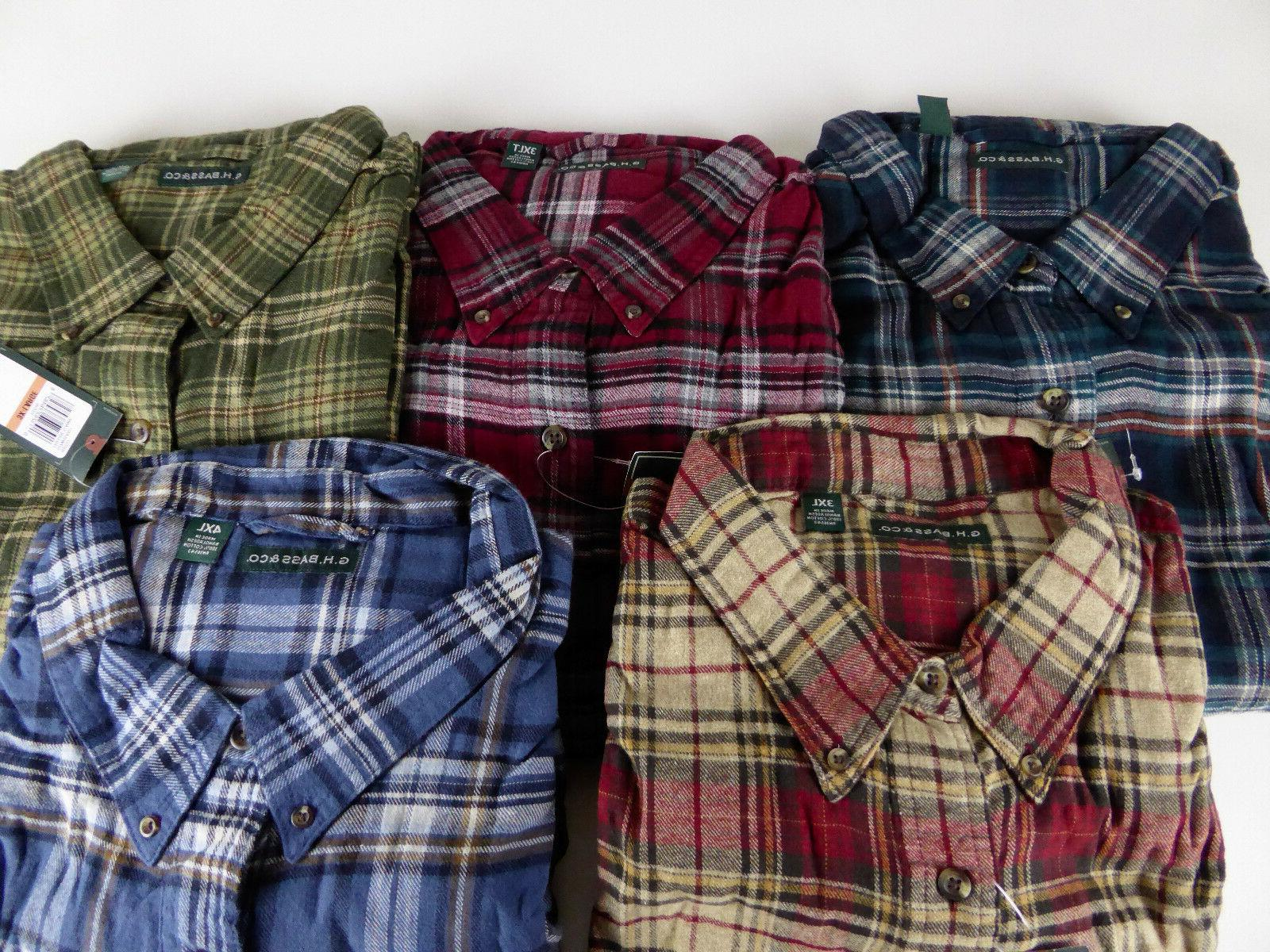 G.H. of Maine Flannel Shirt Big & GH