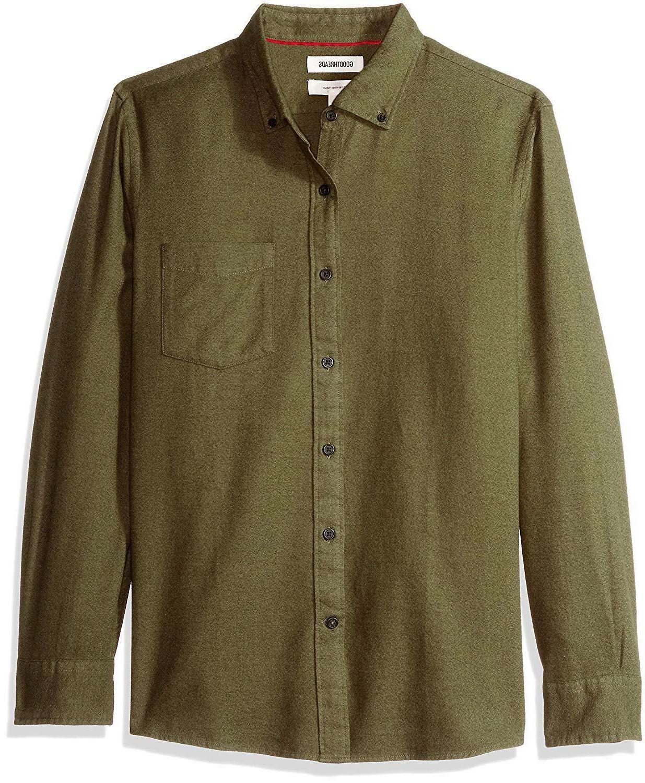 Goodthreads Slim-fit Long-Sleeve Brushed Shirt