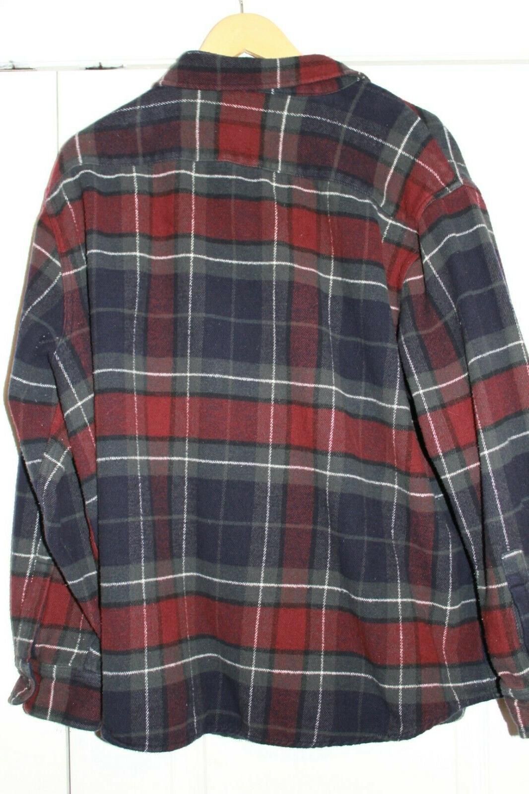 Wrangler flannel L/S shirt XXL