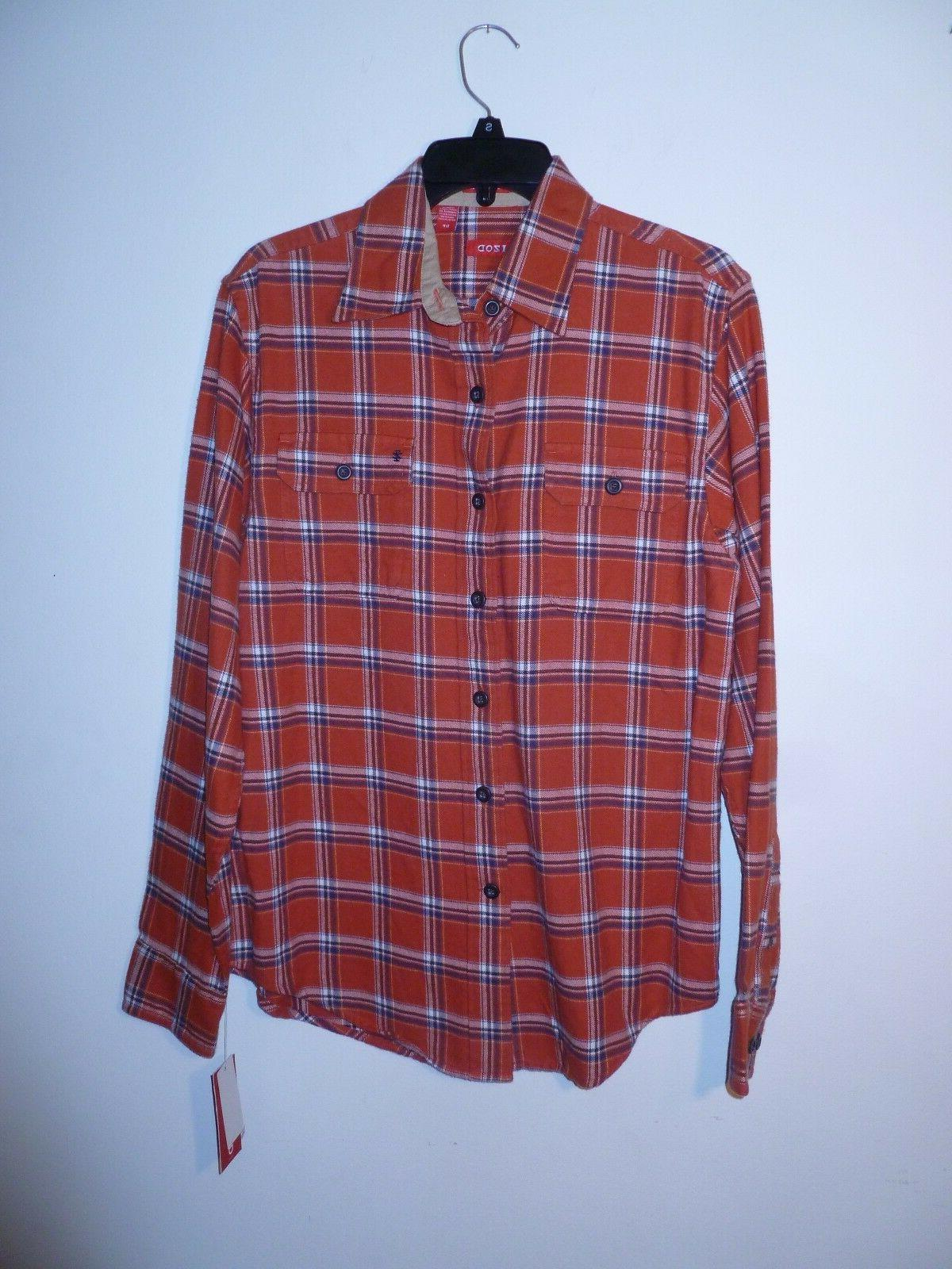 highland twill flannel shirt men s s