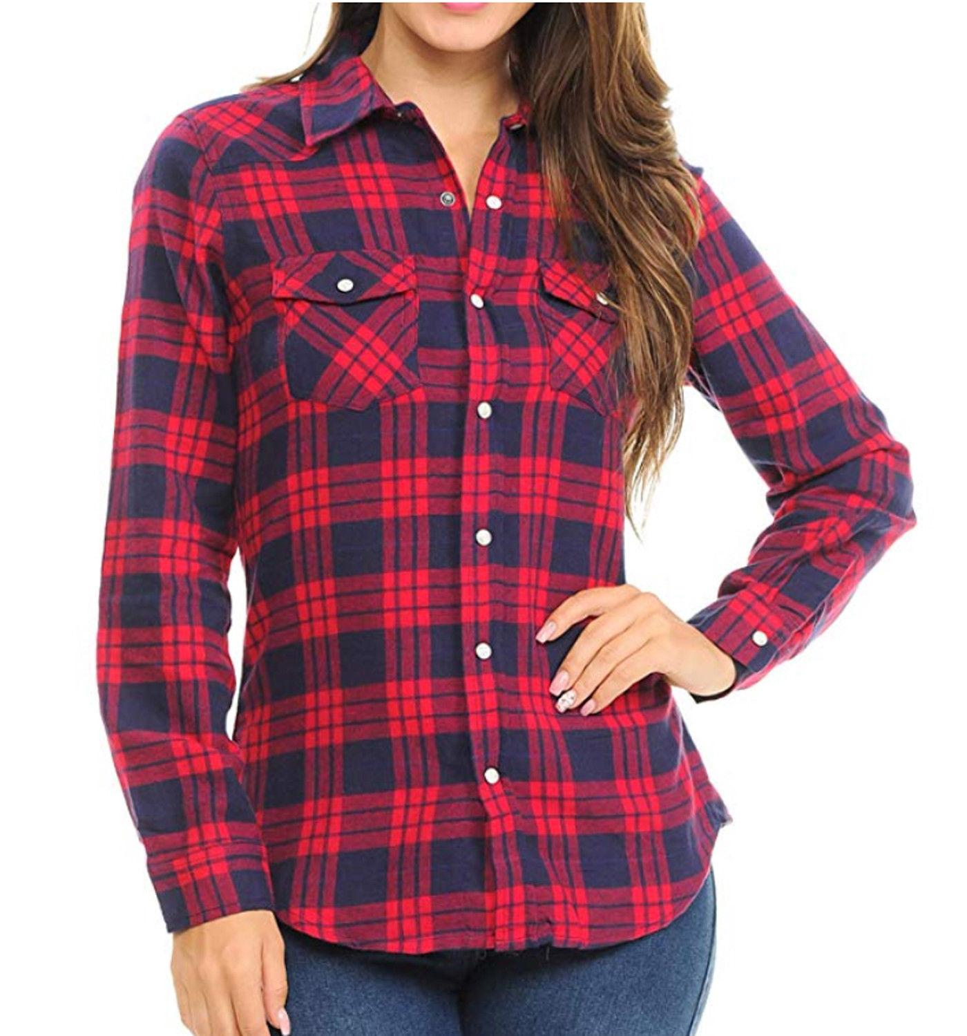 Inso Flannel Checkered Cotton Button Shirts