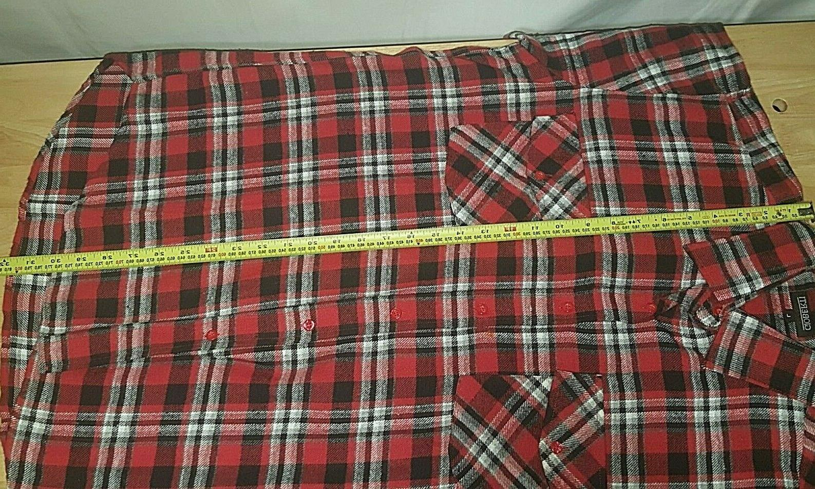 Flannel Shirt ~ Italy Plaid NWOT