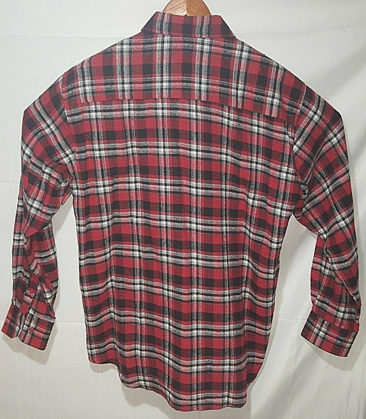 Flannel Shirt Plaid NWOT