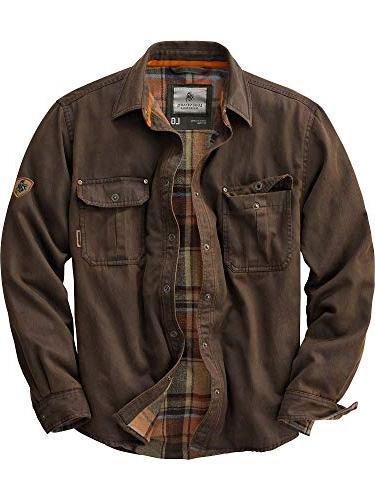 journeyman rugged shirt jacket